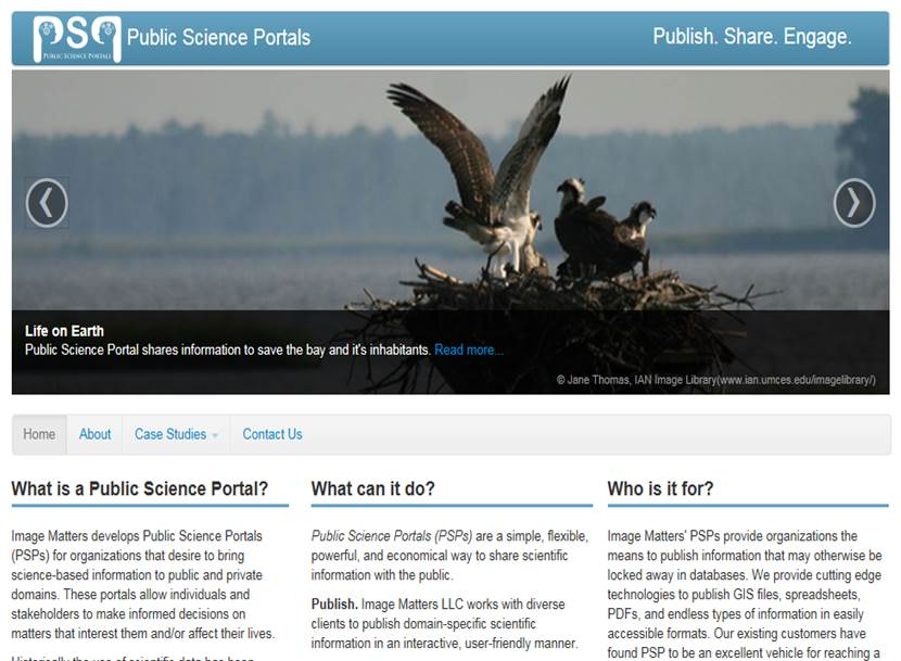 Public Science Portals